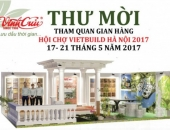 INVITATION CARD – HA NOI VIETBUILD EXHIBITION